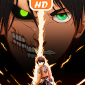 Anime Attack On Titan 4K Wallpapers icon