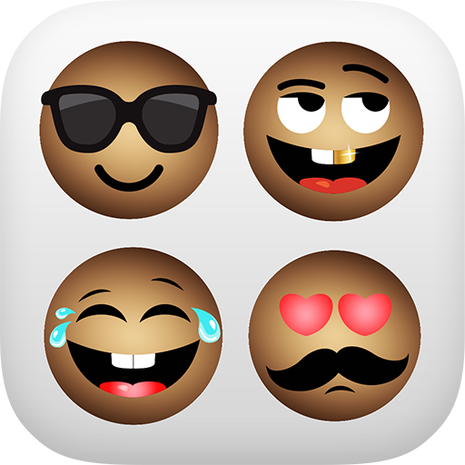 African Emoji Keyboard 2018 - Cute Emoticon