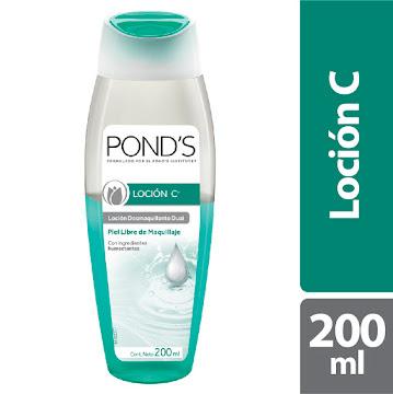//Loción PONDS C   Desmaquillante Limpieza Dual x200Ml