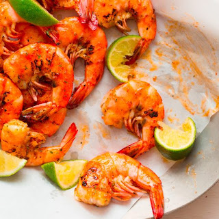 Grilled Peel and Eat Shrimp