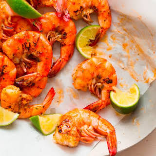 Grilled Peel and Eat Shrimp.
