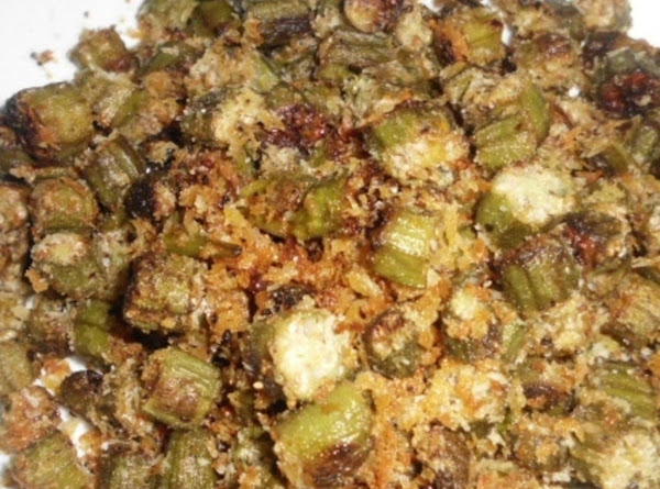 Oven Fried Okra Recipe