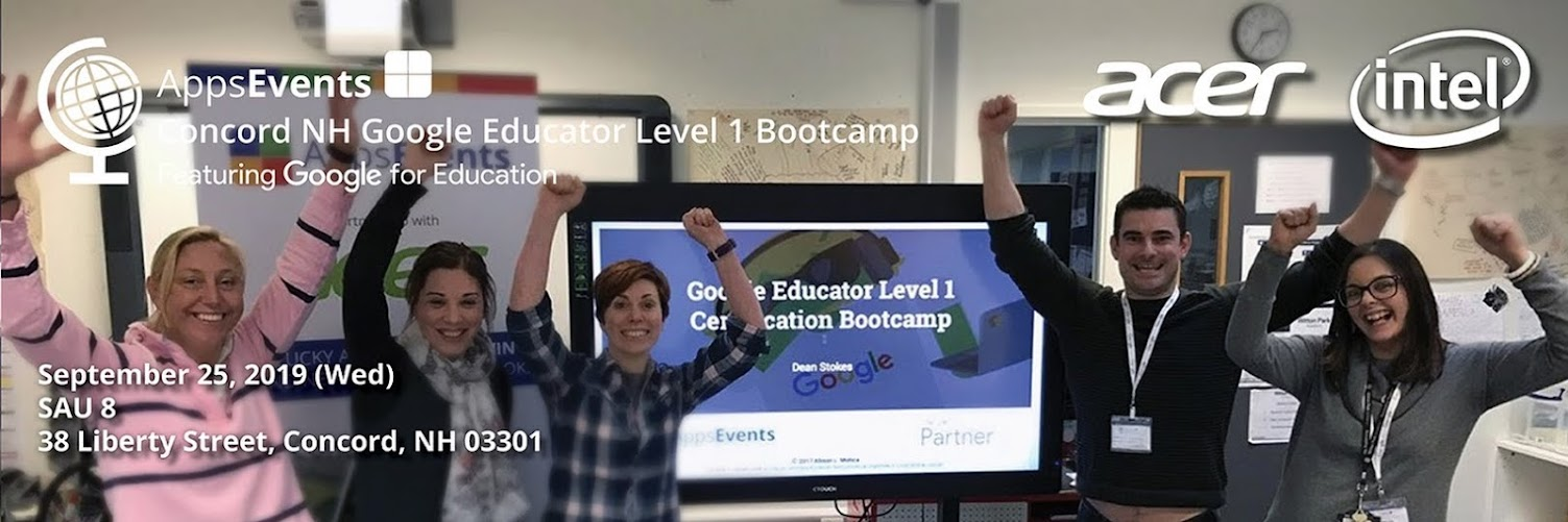 Concord Google Educator Bootcamp 2019