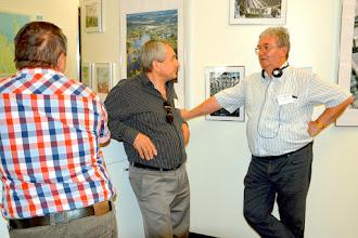 Photo: Sándor Tibor Kővágószőlős polgármestere és Wágner Antal Hetvehely polgármestere
