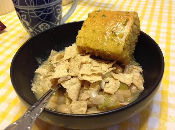 Moist Cornbread With Honeylime Butter
