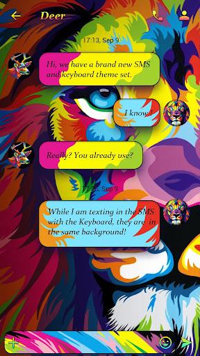 (FREE) GO SMS COLOR THEME Screenshot