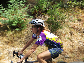Photo: Just Peggy on West Park on the way to Big Basin
