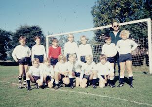 Photo: Pupillenelftal 1973 o.l.v. Izak Bor