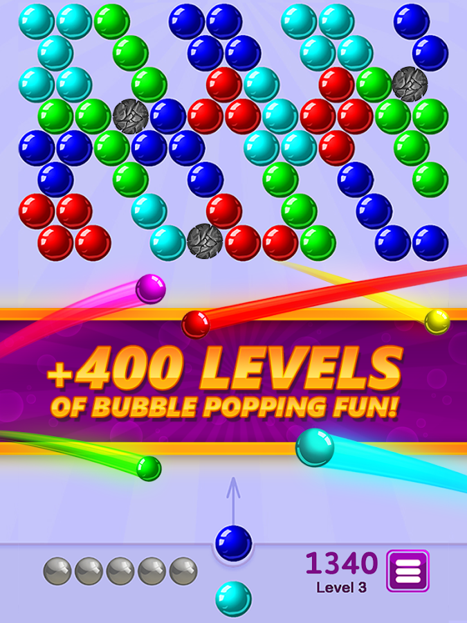 free bubble shooter app