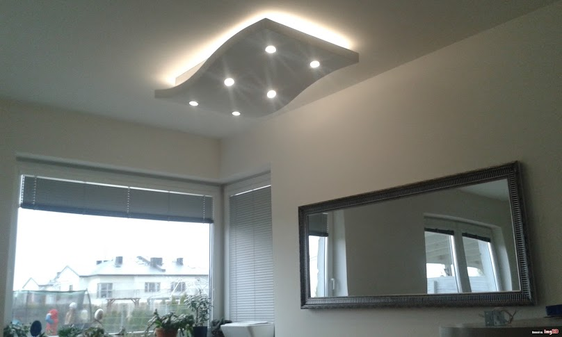 Oświetlenie LED świetnie prezentuje się we wnętrzach