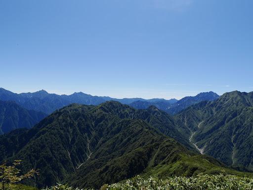 北アルプス後立山・剱岳・毛勝山など