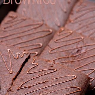 Eggless Nutella Brownies.