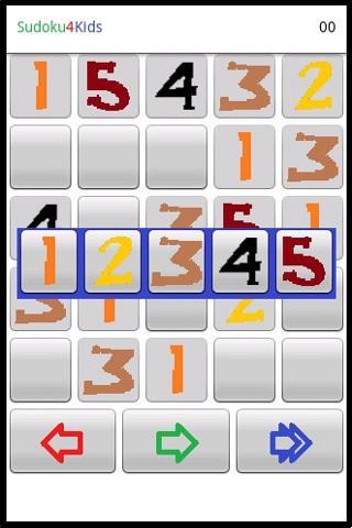 Скриншот Sudoku4Kids