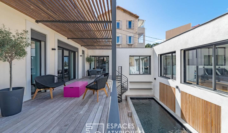 Maison avec piscine et terrasse Marseille 6ème