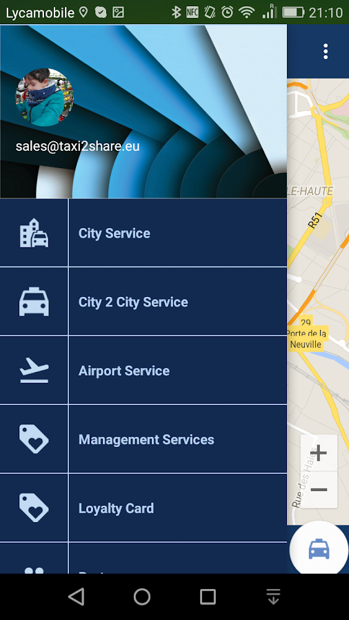 Taxi2Share- screenshot