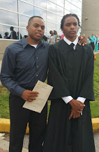 Photo: Graduation Day! Kamau and Miles