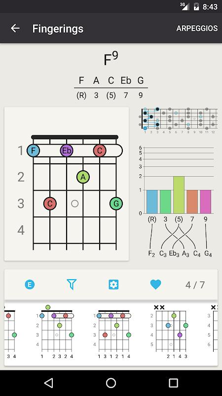 Download Chord! (Guitar Chord Finder) APK 4.2 by RabugenTom - Free ...