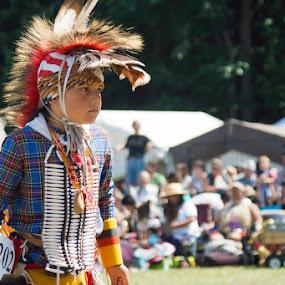 Indian Pow Wow by Anita Elder - People Street & Candids ( chants, pow wow, indian, dance )
