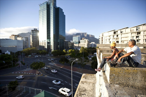 Cape Town CBD. Picture: THE SUNDAY TIMES