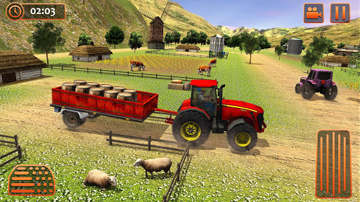 Farm Tractor Cargo Driving Simulator 20 1.5 screenshots 8
