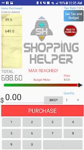 Simple Shopping Helper - náhled