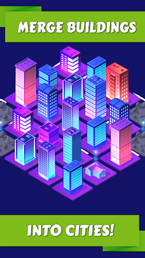 Merge City: idle building game  trampa 1