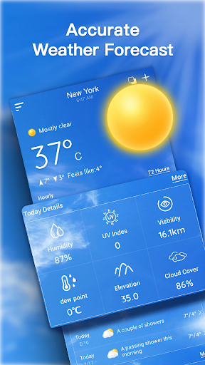Live Weather Forecast: Accurate Weather 1.2.7 screenshots 1