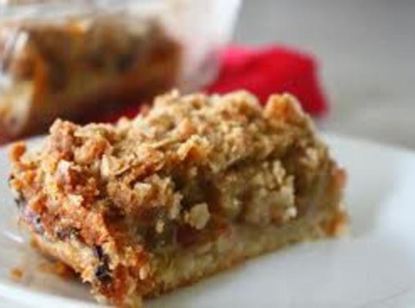 Rhubarb Dream Bars Recipe