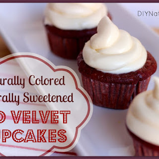 Red Velvet Cupcakes with Naturally Sweetened Cream Cheese Frosting