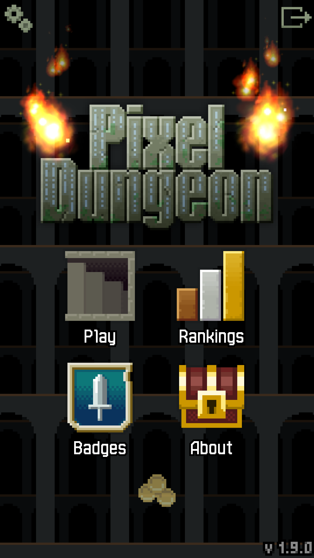 Pixel Dungeon screenshot #1