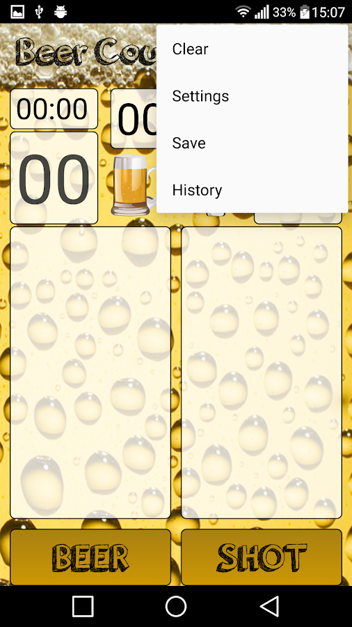 Beer Counter- screenshot