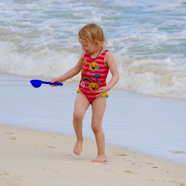 Cup of Sand by Dale Kemp - Babies & Children Children Candids (  )