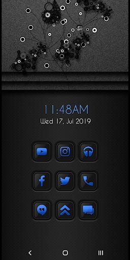 ADG Blue Icon Pack  screenshots 1