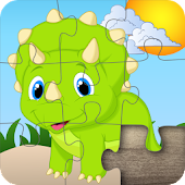 Dinosaur Jigsaw Puzzles for kids & toddlers 🦎