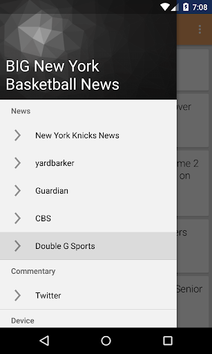 無料新闻AppのBIG New York Basketball ニュース|記事Game