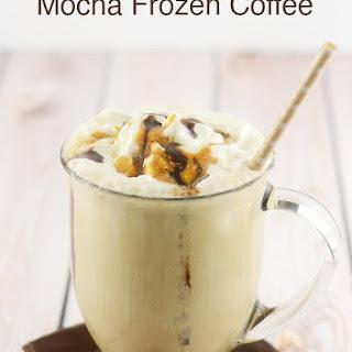 Skinny Salted Caramel Mocha Frozen Coffee