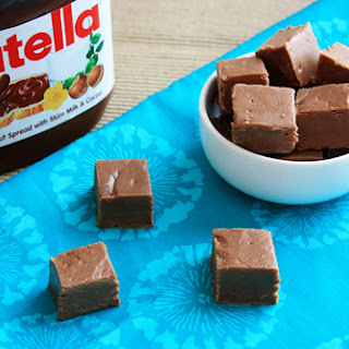 Nutella Fudge – Only 6 Ingredients (You Already Have)