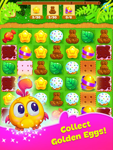 Easter Sweeper - Chocolate Bunny Match 3 Pop Games 2.1.1 screenshots 8