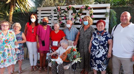 La abuela de Gádor cumple 100 años