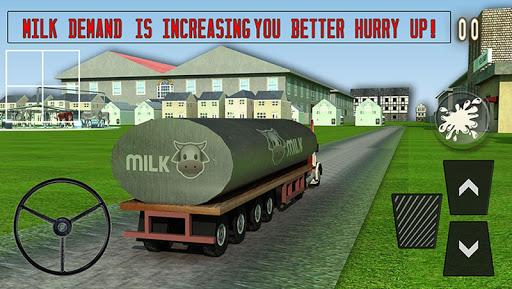 玩免費模擬APP|下載農場的牛奶轉運貨物3D app不用錢|硬是要APP