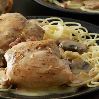Slow-Cooker Smothered Chicken.
