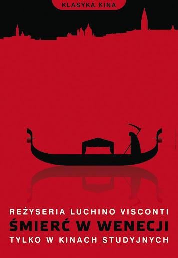 Polski plakat filmu 'Śmierć W Wenecji'