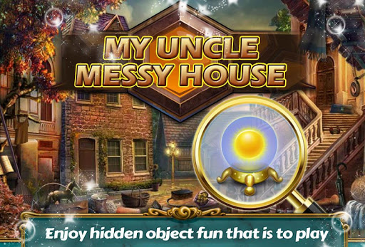 Uncle Messy Home Hidden Object