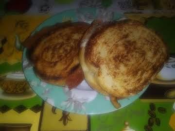 Tomatillo Bacon Grill Cheese