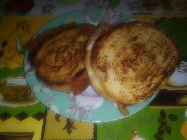 Tamotillo Bacon Grill Cheese Sandwich