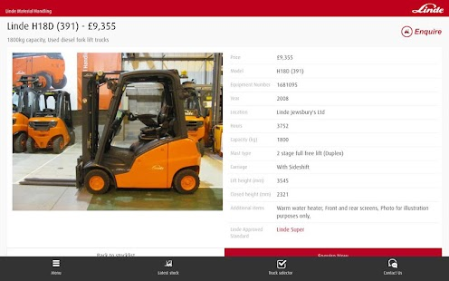 LindeMH UK Used and Rental- screenshot thumbnail