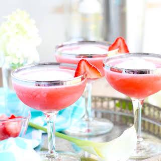 Strawberry Shortcake Martinis.