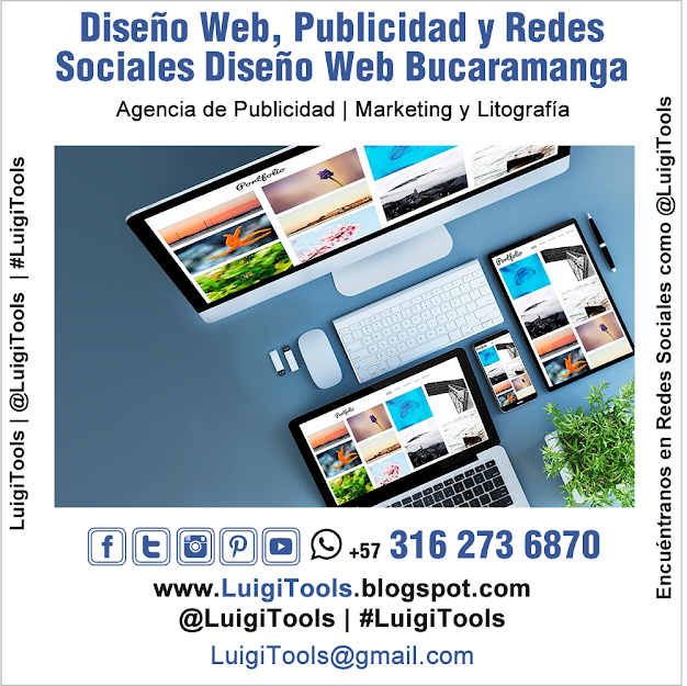 Diseño Web, Publicidad y Redes Sociales Bucaramanga