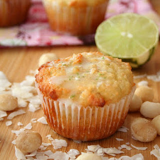 Macadamia Coconut Lime Muffins