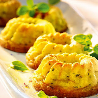 Potato Mini-puddings